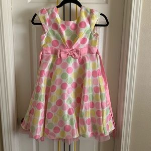 Girls jona Michelle polka dot dress